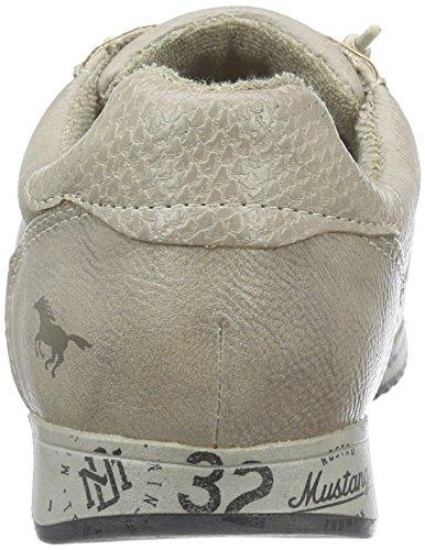 Mustang 1226-403 - Zapatillas para mujer, color Marfil (243 ivory), talla 39 EU