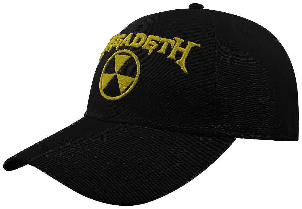 Megadeth Baseballcap Hazard Logo schwarz