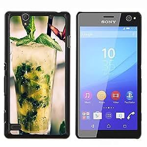 """Be-Star Único Patrón Plástico Duro Fundas Cover Cubre Hard Case Cover Para Sony Xperia C4 E5303 E5306 E5353 ( Fresco cóctel Mojito"""" )"""