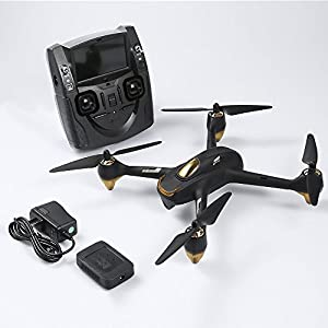 Hubsan H501S X4 RC Quadcopter Drone 4 Channel GPS Altitude Mode 5.8GHz Transmitter 6 Axis Gyro with 1080P HD Camera FPV Follow Me Headless Brushless Quadcopter Drone Mode 2 RTF from Hubsan
