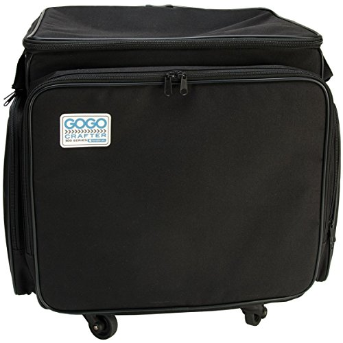 Hampton Art GOGO 300 Crafter Rolling Tote, 20-Inch by 17-Inch by 14-Inch, ()