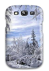 New Fashion Premium HardDiy For Iphone 4/4s Case Cover White Wash Trees