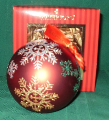 (Waterford Holiday Heirloom Snowflake Ball Ornament)
