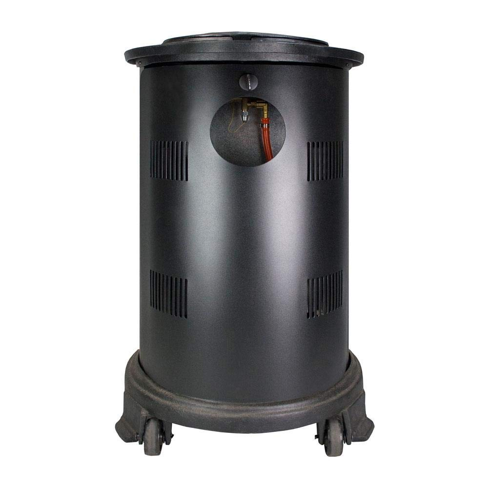 Fireside Estufa portatil de Gas butano de Color Negro con Panel Radiante Modelo Provence
