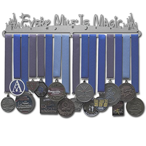 Allied Medal Hangers - Every Mile is Magic (18 Wide with 1 Hang bar)
