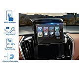 #4: LFOTPP 2018 Chevrolet Traverse 8 Inch MyLink Car Navigation Screen Protector, [9H] Tempered Glass Infotainment Center Touch Display Screen Protector Anti Scratch High Clarity