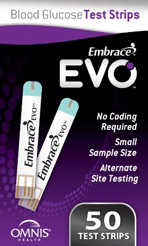 embrace glucose test strips. Amazon.com: Embrace EVO Blood Glucose Test Strips, 50ct Vial: Industrial \u0026 Scientific Strips