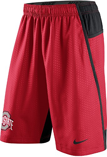 Nike Ohio State Buckeyes Men's Fly XL 3.0 Dri-FIT Training Shorts (XL, Red)