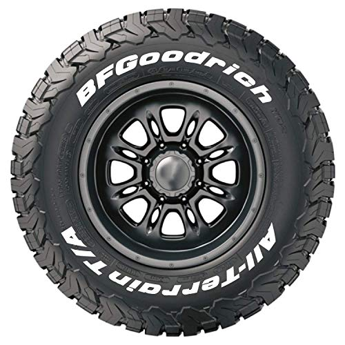 Tire Stickers - Official BFGoodrich Tire Letters for KO2 Tires - Add-On Tire Accessory - White Edition - (1 Tire)