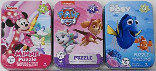 Mini Puzzles Tin Cases Bundle