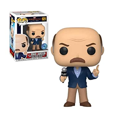 Funko Pop! Spider-Man Far from Home J Jonah Jameson Exclusive Figure 621: Toys & Games