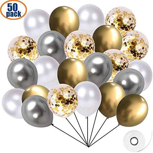 """5/"""" Pouces Métallique Pearl Chrome Latex Ballons pour Anniversaire Mariage Maison Fête UK"""