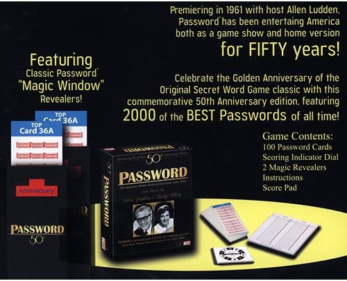 Password Golden 50th Anniversary Edition: Amazon.es: Juguetes y juegos