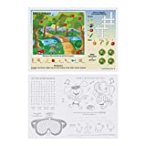 Hoffmaster 310693 Fun Games 2-Sided Placemat, 10'' Length x 14'' Width (Pack of 1000)