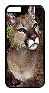 iphone 6 plus 5.5inch Cases & Covers Mountain Lioness And Her Cub Custom PC Hard Case Cover for iphone 6 plus black