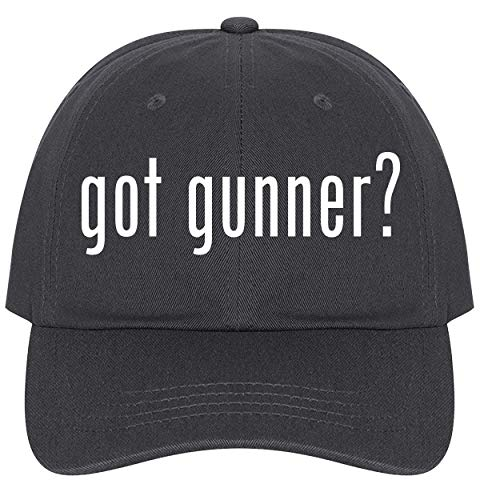 The Town Butler got Gunner? - A Nice Comfortable Adjustable Dad Hat Cap, Dark Grey