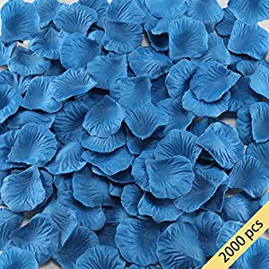 HO2NLE 2000 Pcs Artificial Flowers Silk Rose Petals Wholesale Home Party Ceremony Wedding Decoration 35