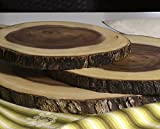 Lipper International Acacia Wood Slab Serving Board