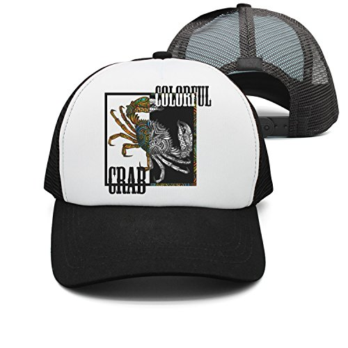 jrw5dfg498p Cap Colorful Crab Tattoos Crabs Snow Crab Unisex Grid Cap Cute Stylish Casual Simple Funny Personality Fashion Travel Essential