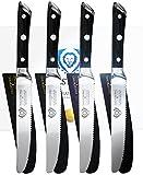 DALSTRONG Steak Knives Set - Gladiator Series - German HC Steel - w/Sheaths