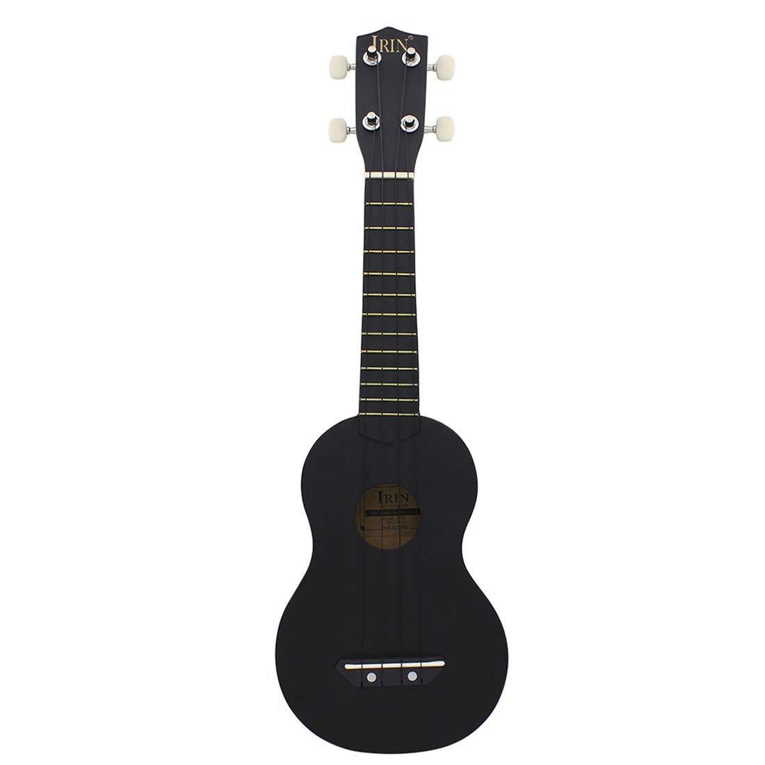 LVPY Guitare Jouet - 21 Pouces Guitare Enfant en Bois - 4 Cordes Istrument de Musique pour Guitare Débutant, Couleur: Orange
