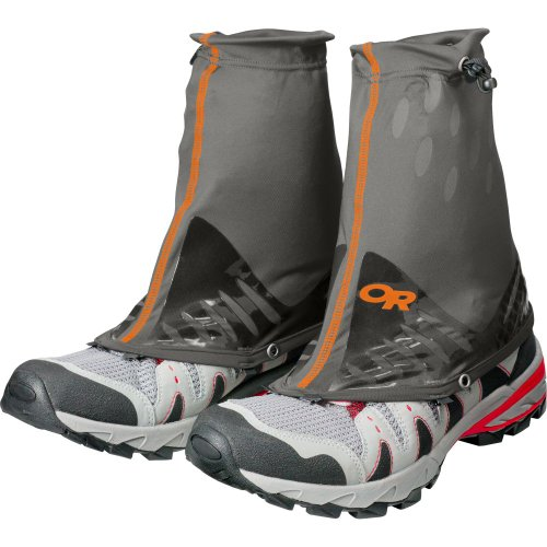 Outdoor Research Men's Stamina Gaiters, Pewter, Large/X-Large