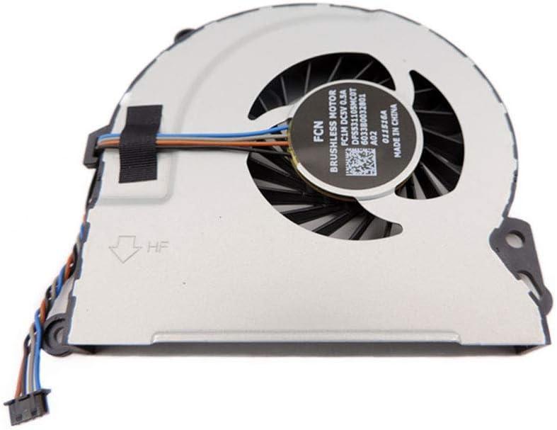 HP Envy 17-3020en HP Envy 17-3015eo HP Envy 17-3020eg Power4Laptops Replacement Laptop Fan for HP Envy 17-3011er Pair HP Envy 17-3015ef