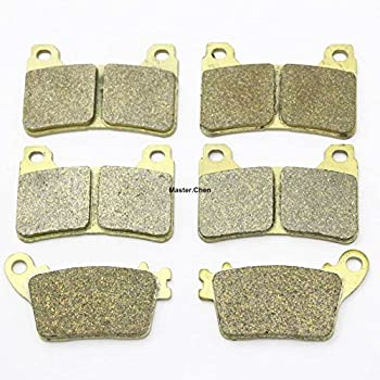 Front Rear Brake Pads For Gas-Gas EC 125//200//250//300 Brakes 2000-2009 SINTERED