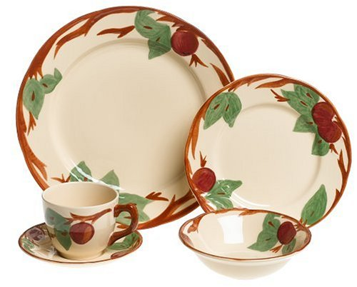 Franciscan Apple 5-Piece Place (Apple Dish Set)