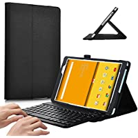 ASUS Zenpad Z8 Keyboard case, IVSO ASUS Zenpad Z8 ZT581KL Case With Keyboard Ultra-Thin DETACHABLE Bluetooth Keyboard Stand Case / Cover for Samsung ASUS Zenpad Z8 Verizon Tablet(Black)
