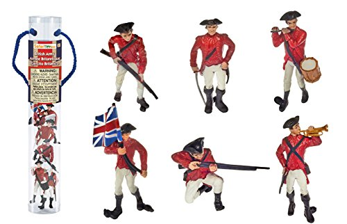 Safari Ltd Historical Collections American Revolutionary War British Army Designer TOOB -