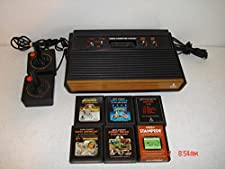 Atari 2600 Woodgrain Bundle w/6 Games