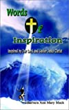 img - for Words of Inspiration: Inspired by Our Lord and Savior Jesus Christ book / textbook / text book