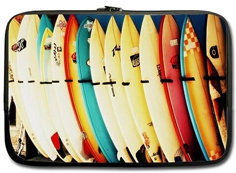 Nueva playa tabla de surf bikini 13 pulgadas portátil Laptop Case manga bolsa de transporte (