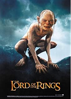 Smeagol Gollum Lord Of The Rings Movie Wall Art Poster Canvas Picture Print