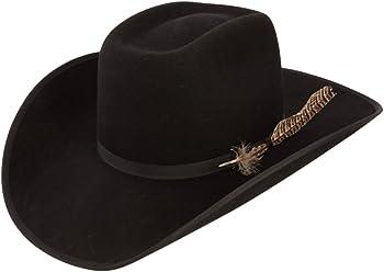 Resistol Boys Holt Jr B Felt Cowboy Hat O S Fits 7   Smaller Black 17958e64772c