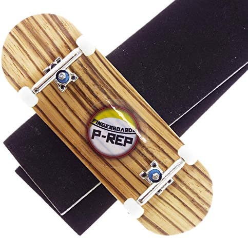 Zebra P-REP Tuned Complete Wooden Fingerboard 32mm Natural