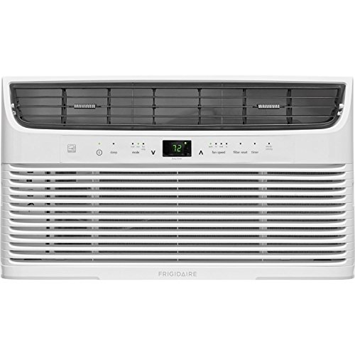 (FRIGIDAIRE FFRE0833U1, White Air Conditioner,)