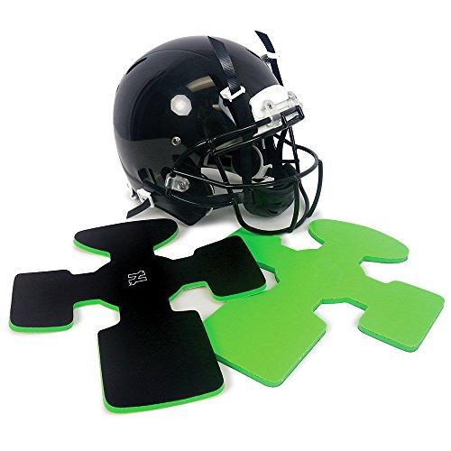Unequal Gyro v2.0 Supplemental Head Padding for Football Helmets -