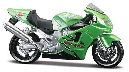 Kawasaki Ninja ZX-12R, Maisto Motorrad: Amazon.es: Juguetes ...