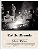 Cattle Brands, Andy Adams, 1438509057