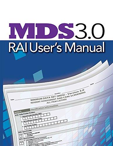 - MDS 3.0 RAI User's Manual
