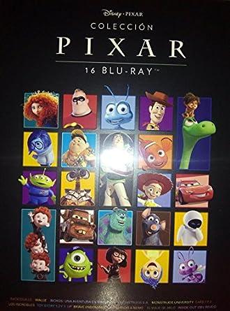 Colección Pixar 16 Películas Blu-ray: Amazon.es: Cine y Series TV