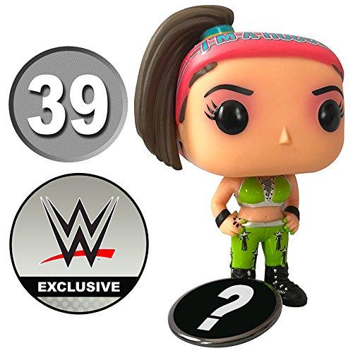 Funko Pop WWE Diva Superstar Bayley 2017 Exclusive Vinyl Figure # 39 in Protective Box with Bonus (Pop Star Diva)