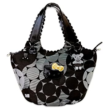 2d2d25db2c74 SAVOY x Hello Kitty 2WAY tote bag Jacquard (japan import)  Amazon.co.uk   Toys   Games