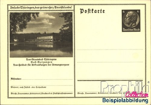 German Empire P236 Official Postcard 1934 Hindenburg (documents philatelic covers for collectors)
