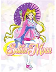 Sailor Moon: Amazing Coloring Book To Get Into Sailor Moon World With Perfect Designs Stimulate Creativity And Having Fun