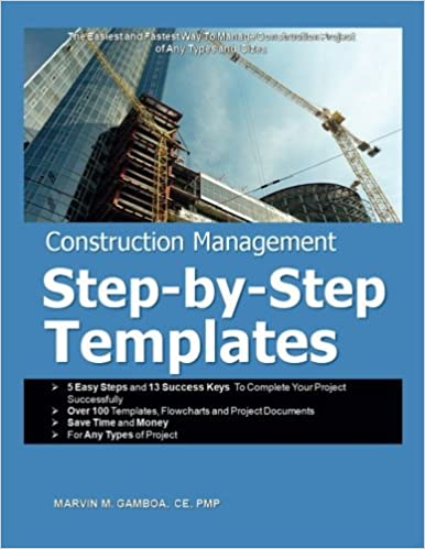 construction management step by step templates mr marvin m gamboa