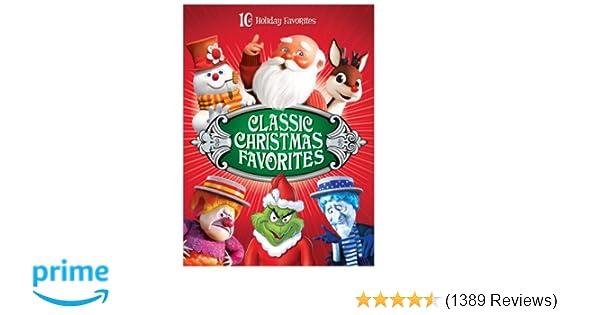 Christmas Animation.Amazon Com Classic Christmas Favorites Various Movies Tv