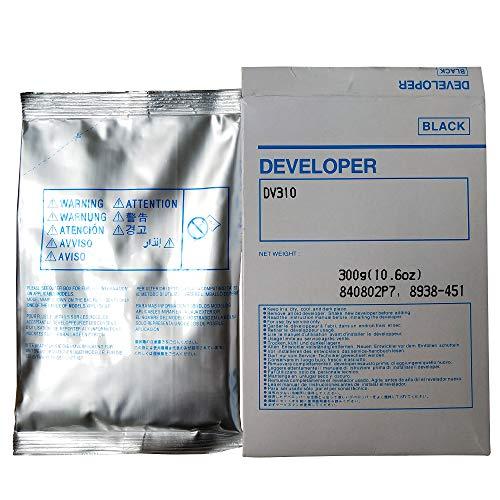 Printer Toner, Black Developer Powder Suitable for Konica Minolta Bizhub DV310 BH 200 250 350 282 362 Copier Parts 8938451, Photocopy Machine (1Bag(Black))